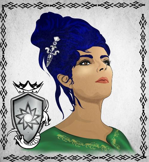 Portrait de la garde royale Meli Ha Zai