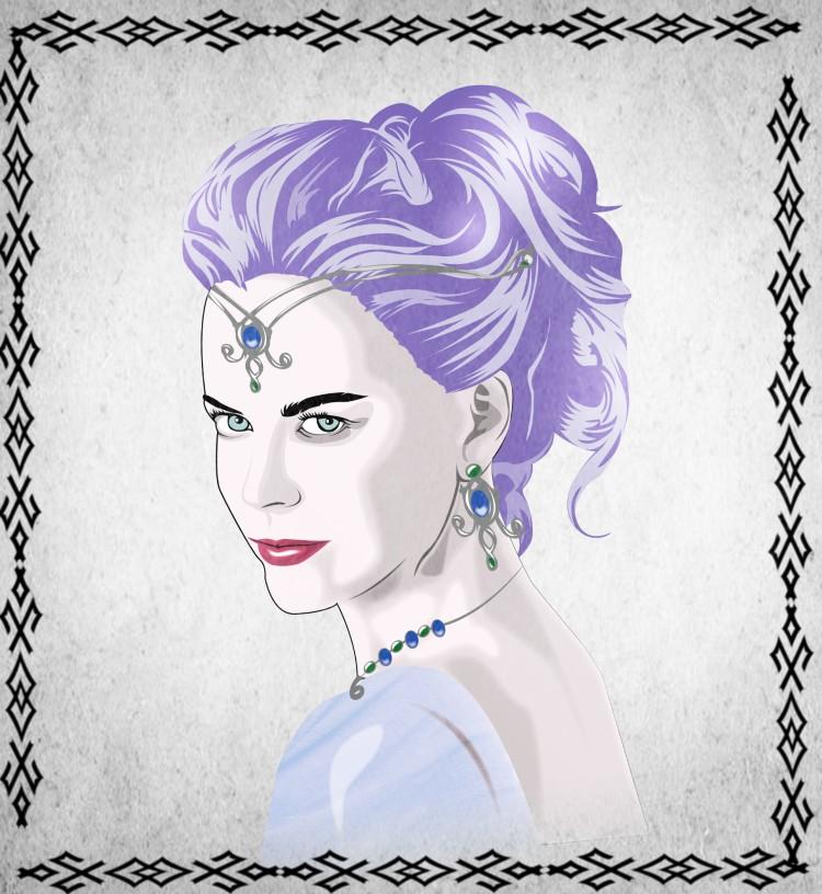 Portrait de la reine Rial'Als