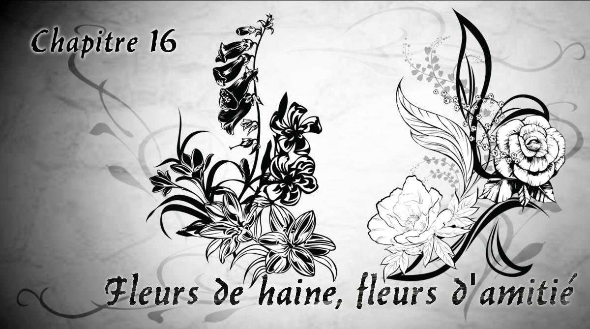 """Chapitre16 """"Fleurs de haine, fleurs d'amitié"""""""